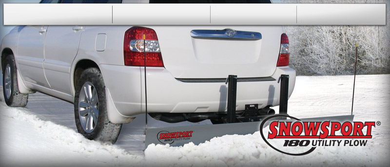 Snowsport 180 Hitch Mounted Utility Plow