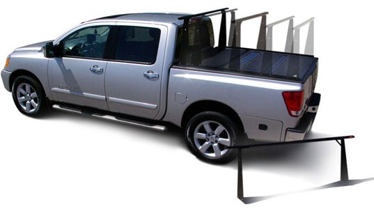ladder rack for truck with tonneau cover 1