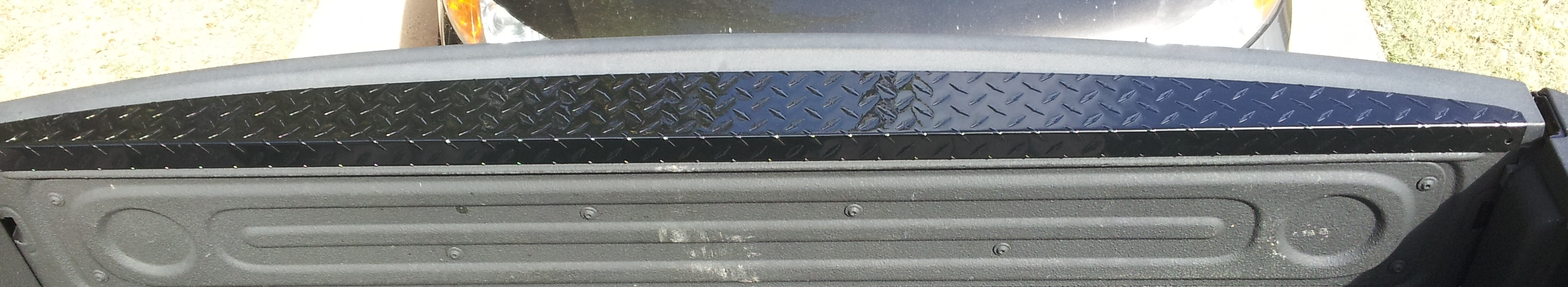 Tailgate Cap New Dodge on 2001 Dodge 2500 Silver