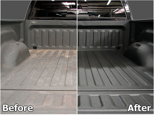 Renuit Truck Bed Liner Bumper And Plastic Restoration