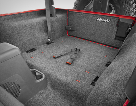 Bedrug And Bedtred Floor And Cargo Liners For Jeep Wrangler
