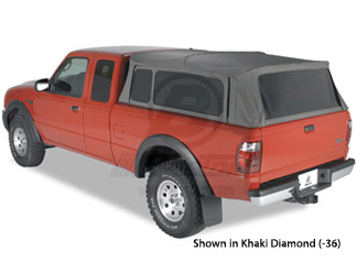 Supertop Soft Collapsible Retractable Truck Topper