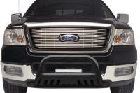 Ford Truck Accessory - TrailFX Ford F-Series 3 Black Powdercoat Bull Bar