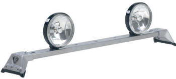 Low Profile Light Bar Silver