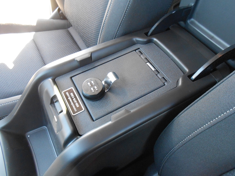 Console Vault, Truck and SUV Auto Console Safe by Console ...
