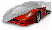 Mosom car cover fabric similar to Noah car cover fabric. Virtually waterproof Custom Car Cover fabric