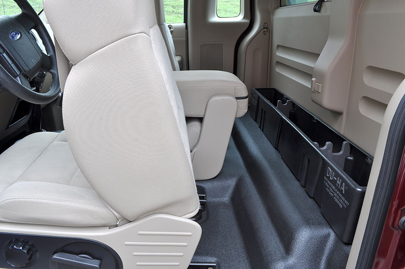 Behind Seat Storage For F150 Regular Cab 2004 2008