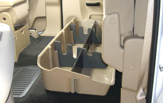 Under Seat Storage For Chevy Gmc Crew Cab