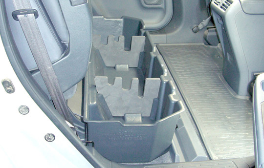 Under Seat Storage for Honda Ridgeline