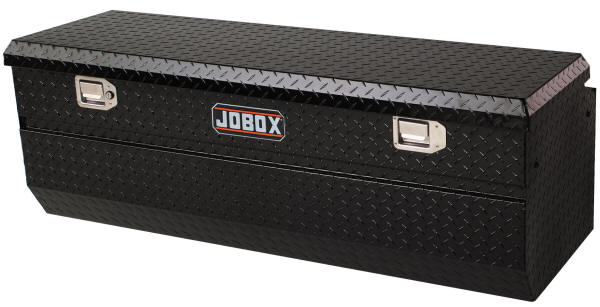 Jobox Aluminum Truck Chest Black