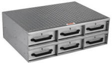 Two Drawer High Storage Box