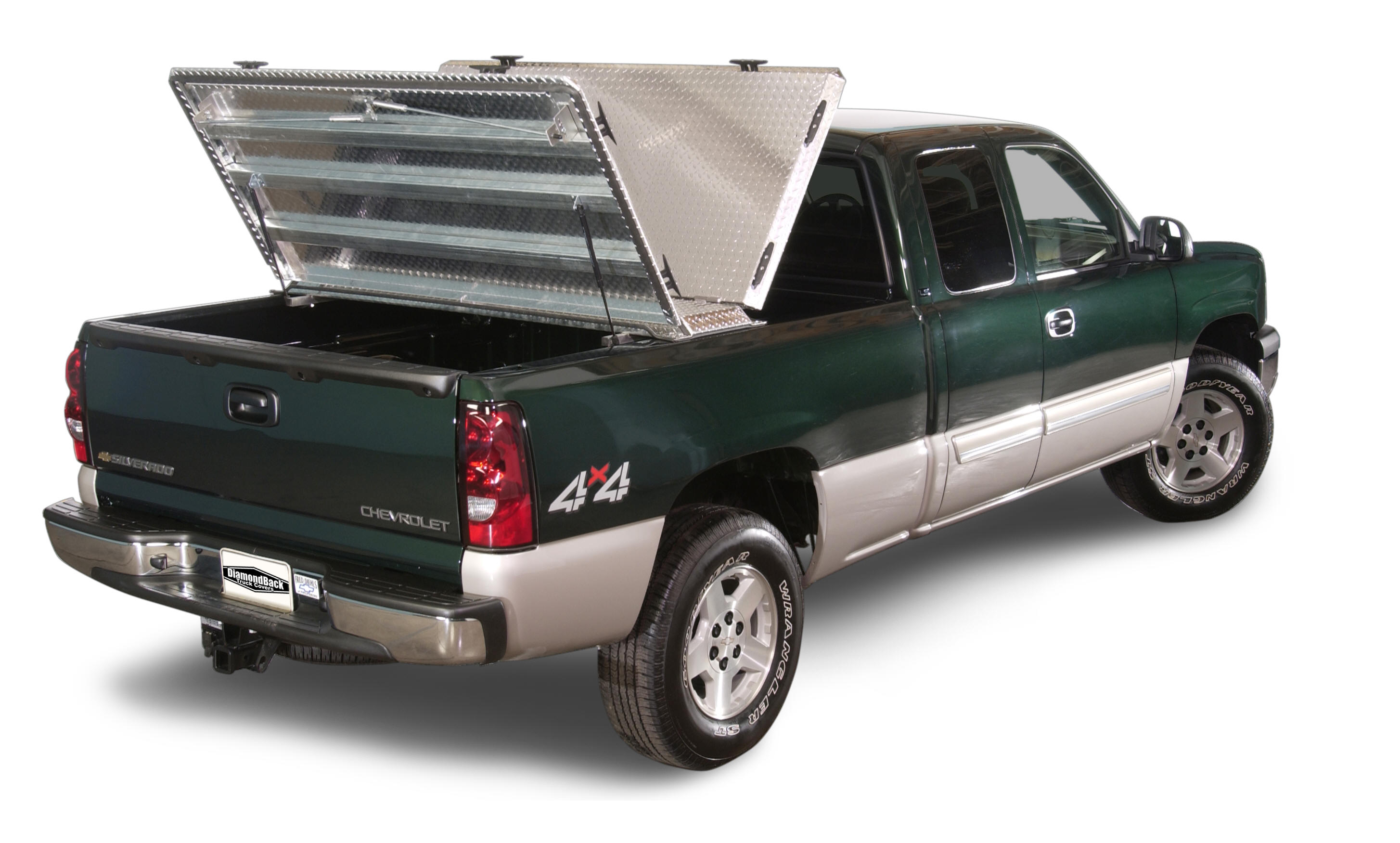 haul on top the diamondback hd truck bed cover
