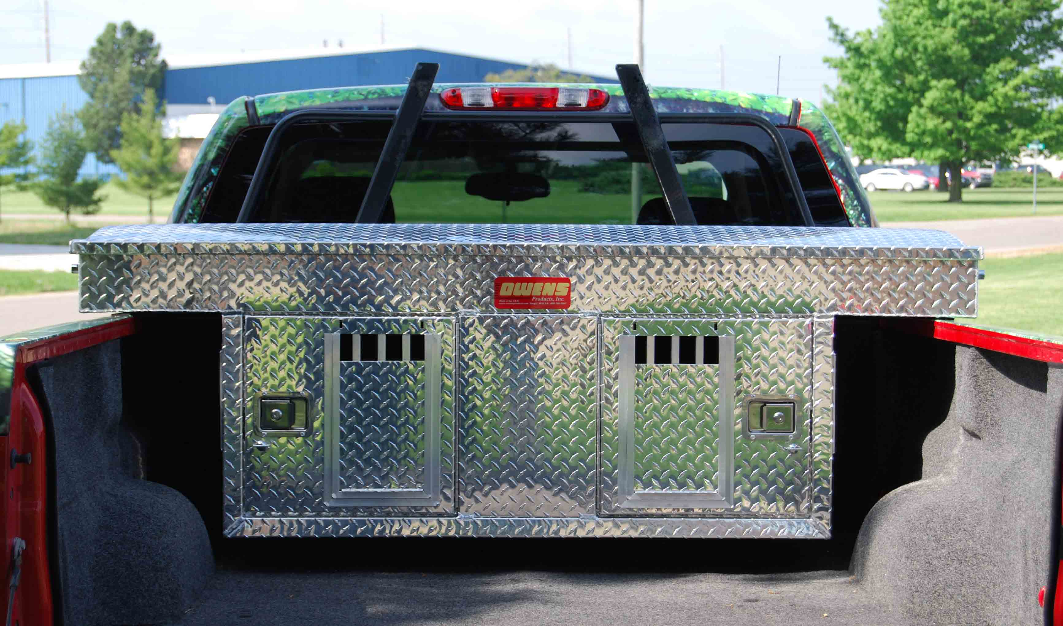 Aluminum Truck Bed Dog Boxes