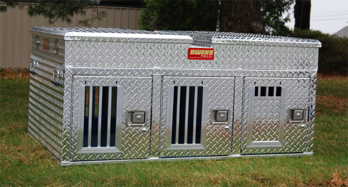 Aluminum Dog Boxes The Hunter Series By Owens
