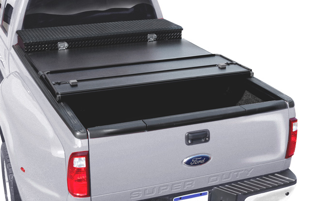 Tool Box Covers >> Extang Solid Fold Tool Box TriFold Tonneau Cover