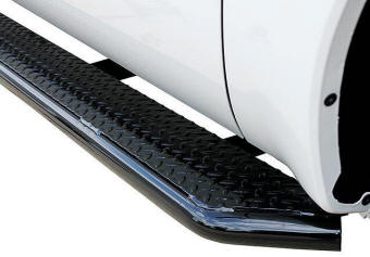 Diamond Tread Truck Steps