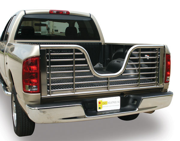 Stainless Steel Air Flow V Gate Fifth Wheel Truck Tailgate