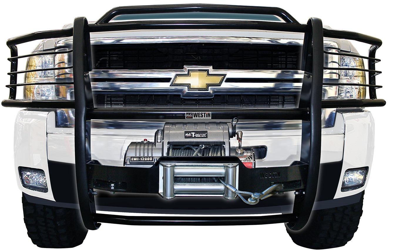 Grill Guards For Trucks : Sportsman winch mount grille guards