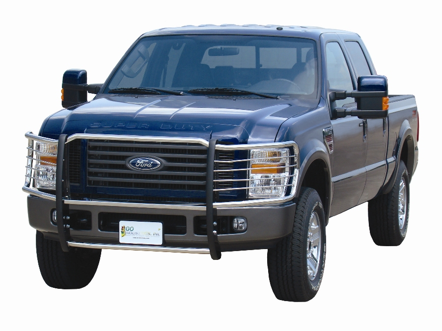 Pickup Brush Guard : Grille shield grill guard by go industries