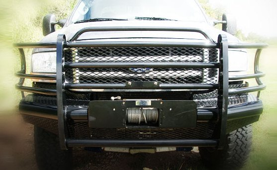 Tough Country Traditional Front Bumper Replacement Brush Guard