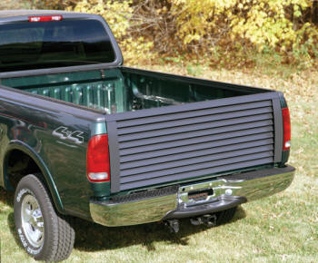 Louvered Truck Tailgate