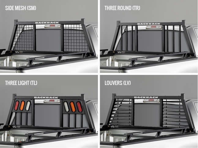 Backrack Insert Rack Truck Cab Guards