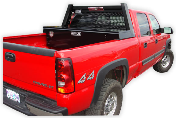 Tool Box For Truck: Saddle Cross Over Toolboxes By Highway Products