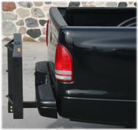Fold Up Receiver Hitch Rack