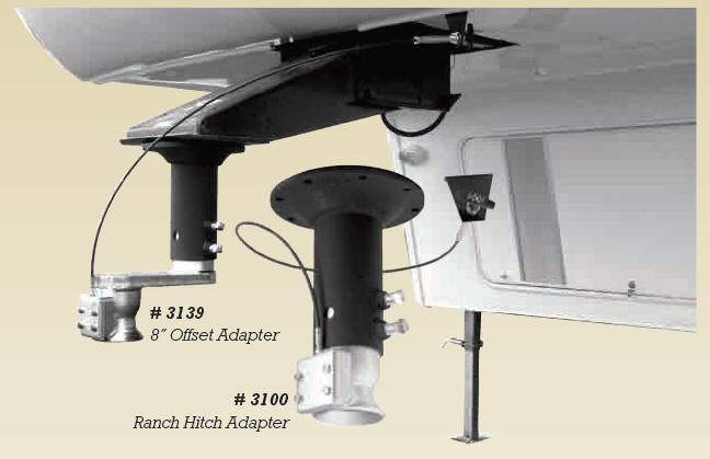 Rapid Hitch Fifth Wheel Adapters