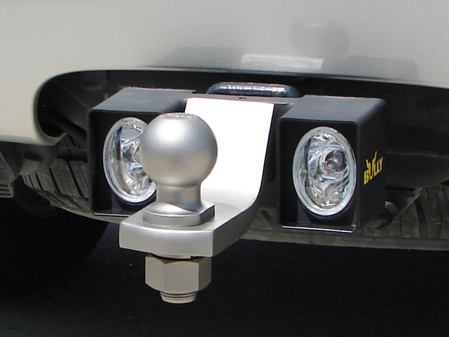 Ball Mount Trailer Hitch Light By Bully