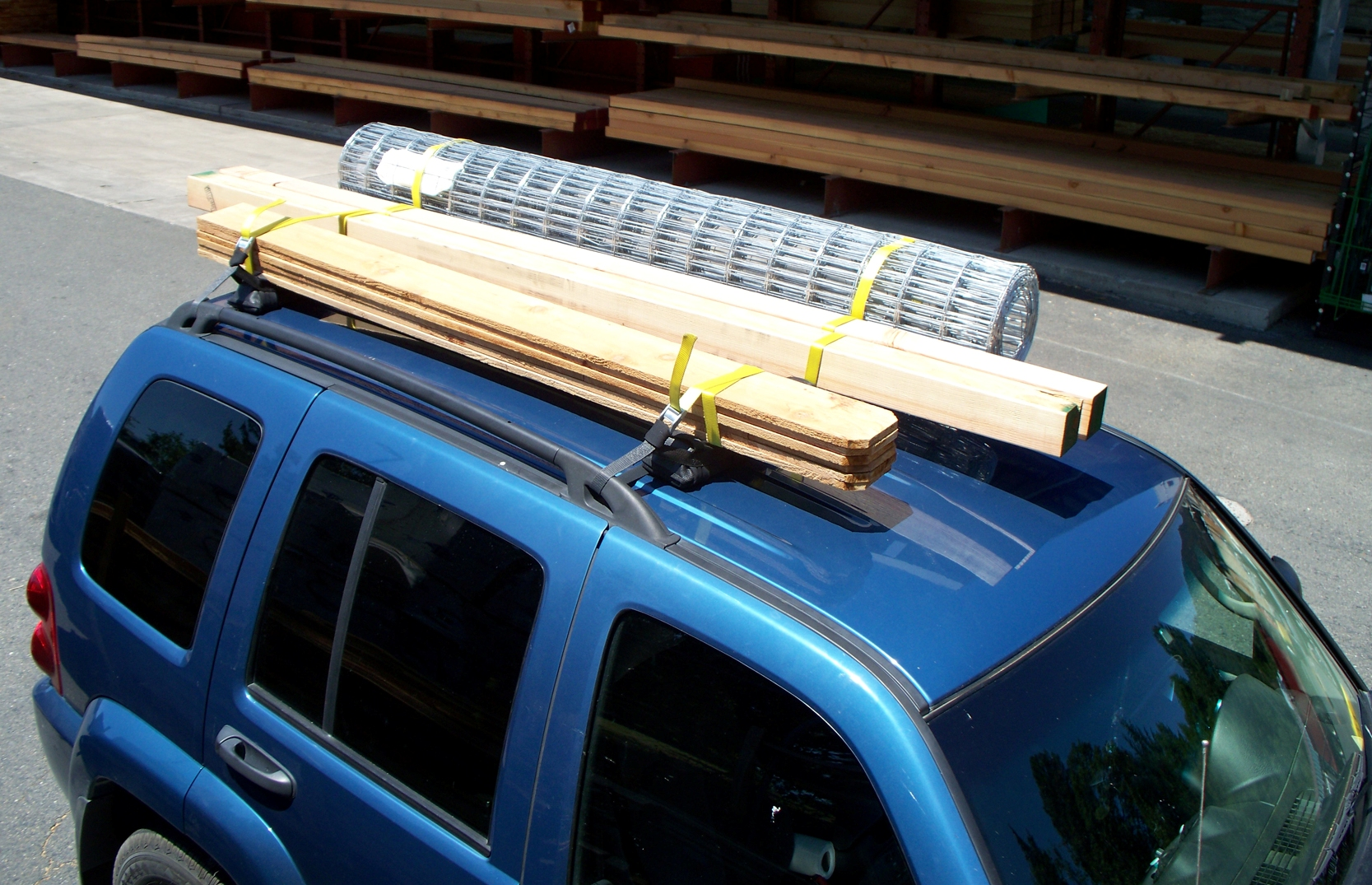 Vehicle Rooftop Cargo Cushions