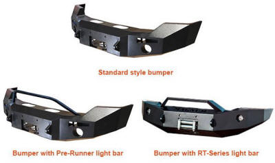 ICI Front Winch Bumpers