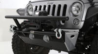 Front Bumper with Winch Grille Guard