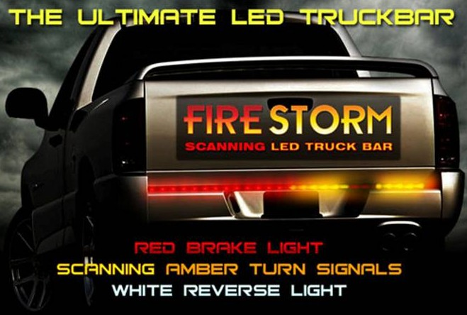Firestorm tailgate light bars truck led light bars for trucks, cars and suv's Off-Road Light Bar Wiring Diagram at mifinder.co