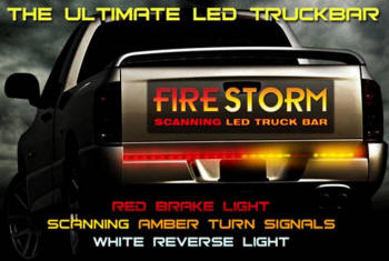 Scanning LED Tailgate Light Bar