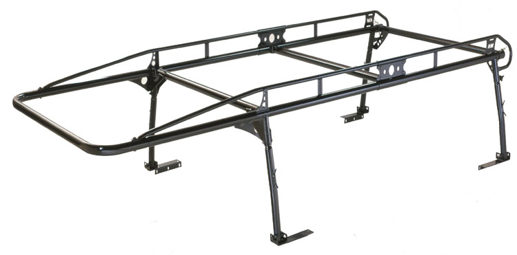 Kargomaster proII truck ladder racks on harbor freight utility trailers small