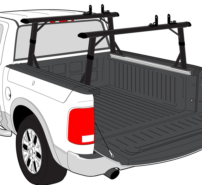 Dodge Rambox Ladder Racks