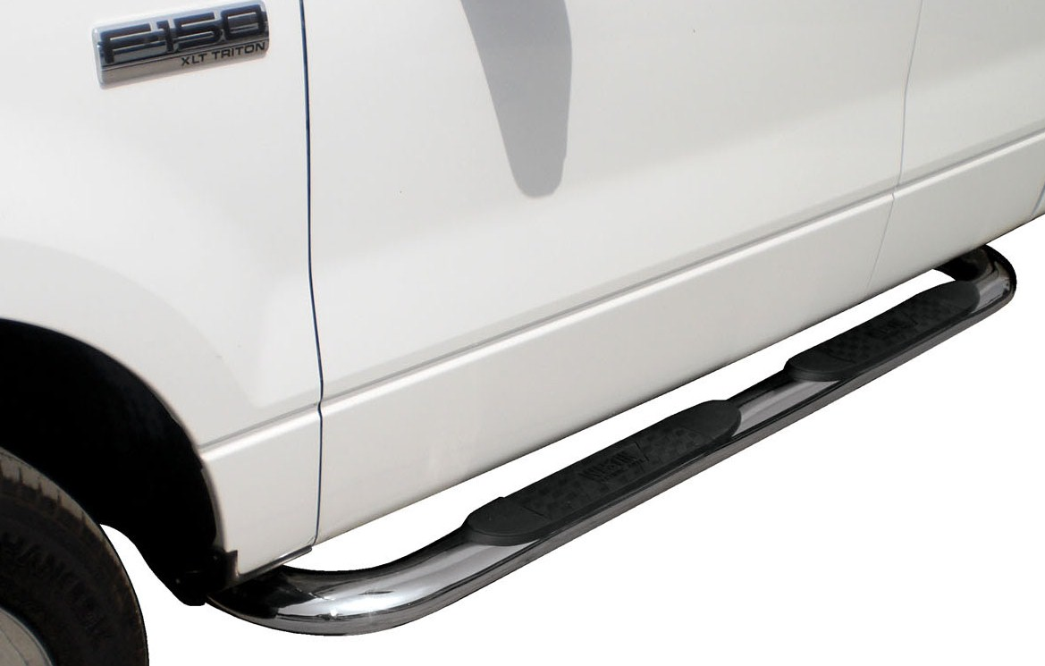 Westin Platunim Oval Series Stainless Nerf Bars