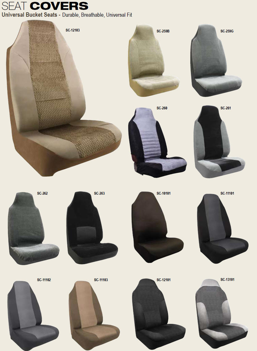 Car Seat Covers By Pilot Automotive Bucket Seat Covers