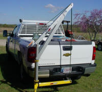 Receiver Hitch Truck Crane