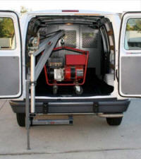 Van Receiver Hitch Crane