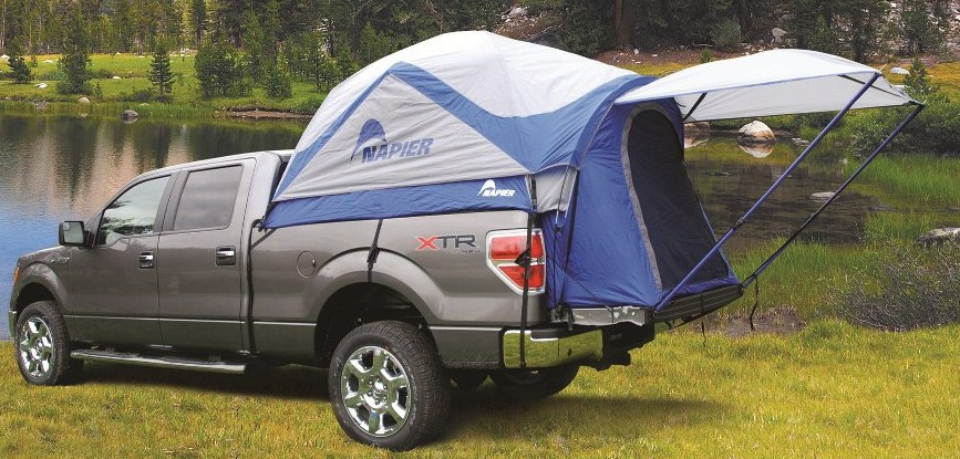The Sportz Truck Tent assembles in the back of your open-bed pickup creating a comfortable restful sleeping area for two people with increased interior ... & Sportz Tent 57 Series by Napier Enterprises
