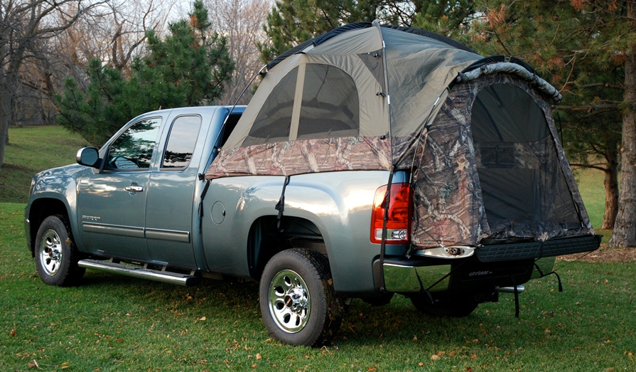 Set up c& wherever your truck will take you. The Sportz Camo Truck Tent allows you to sleep high and dry off the cold dirty ground and in the bed of your ... & Camo Truck Tent