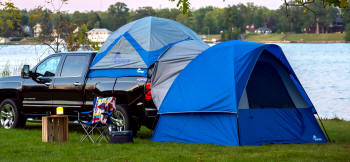 Sportz Link Ground Tent & Pickup Truck Tents and Awnings | SUV and Camping Tents