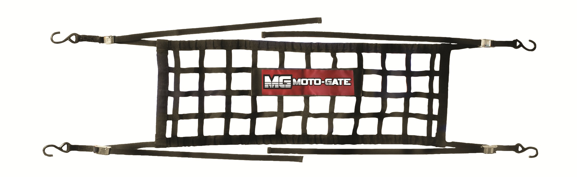 Moto Gate Flexible Tailgate Bed Extender Cargo Net