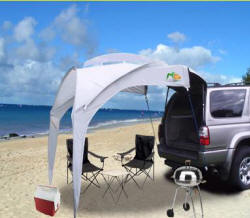 Sport Shade Portable Retractable Awning For Tailgating And