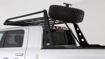 ADV Rack Spare Tire Mount