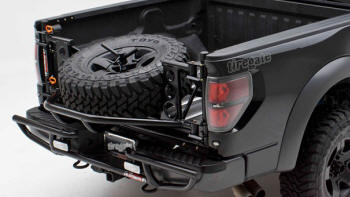 Tiregate Tailgate Spare Tire Carrier Tailgate Tire Carrier