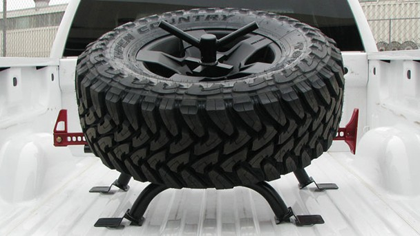Tiregate Truck Bed Mount Tire Carrier