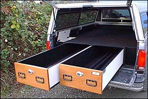 truck vault pickup magnum 2 drawer